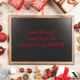 God Jul från XBUS!